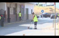 Algesa continúa con las tareas de limpieza y desbroce en La Piñera