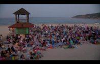 """El ciclo """"Cine de Verano en playas"""" concluye mañana en Getares"""