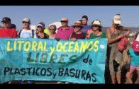 El PSOE participa en la limpieza del litoral del Parque del Centenario organizada por Barrio Vivo
