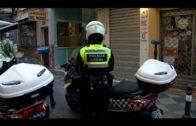La Policía Local intercepta a un grafitero en la carretera de El Rinconcillo
