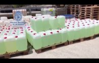 La Policía Nacional interviene 7125 litros de gasolina y 15 vehículos en La Línea