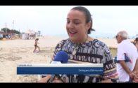 Las actividades educativas por la festividad de la Palma llegan a la playa del Rinconcillo