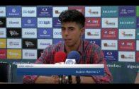 Los jugadores del Algeciras satisfechos con el juego del trofeo y su rendimiento personal