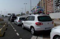 Protección Civil cifra en 277.915 el tránsito total de coches en la OPE hasta el sábado