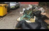 Denunciado un vecino de la Colonia San Miguel por arrojar residuos y enseres a la vía pública