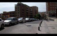 El Ayuntamiento repone el adoquinado de la calle José Luis Tobalina, tras el edificio Plaza Mayor