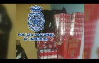 Intervenidas cepción 54.238 cajetillas de tabaco de contrabando valoradas en más de 200.000 euros