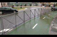 IU vuelve a denunciar el lamentable estado que presentan las barreras de  protección del carril bici