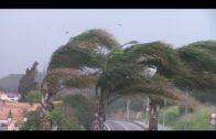 Aemet activará a partir de esta medianoche varios avisos por lluvia y viento en el Estrecho