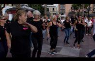 Algeciras conmemora el Día Internacional del Mayor con gimnasia y baile en la Plaza Alta