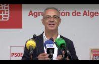 El PSOE de Algeciras critica la gestión municipal en  limpieza, alumbrado, aceras y parques