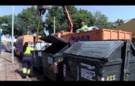 El PSOE exige actuaciones urgentes ante el estado de contenedores de basuras