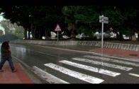 IU denuncia la falta de iluminación en el paso de peatones entre La Granja y San José Artesano