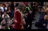 Juan Lozano muestra su apoyo a la Semana Santa algecireña