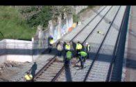 Landaluce confía en que Adif consiga restablecer la conexión ferroviaria antes de tres meses