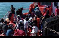 Rescatadas 69 personas a bordo de dos pateras en el Estrecho