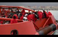 Salvamento marítimo rescató esta noche a 117 inmigrantes