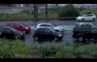 Un accidente en el cruce de Sotorrebolo provoca imporantes retenciones