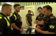 El alcalde felicita a la Policía Local por salvar la vida a un bebe la noche de Tosantos