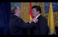 Landaluce afianza las relaciones con la ciudad china de Yueqing