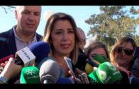 Susana Díaz visita la comarca en campaña electoral, y ofrece un mitin en Algeciras