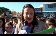 Alumnos participan en un acto del Ayuntamiento de Algeciras como Ciudad Educadora