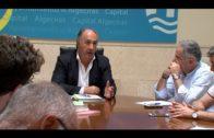El alcalde pide información y colaboración sobre la emisión de malos olores en Algeciras  ayer