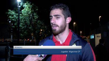 Miguelito a prueba con el Algeciras CF