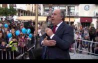 Algeciras despidió el año 2018 con un acto que se celebró en la Plaza Alta