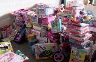 Cáritas recibe los más de 1.500 juguetes recogidos en la campaña de Onda Algeciras