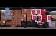 Detienen a 11 personas en La Línea e intervienen más de 22.000 cajetillas de tabaco