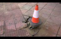 El cruce semafórico de Joaquín Ibáñez afectado por un accidente de tráfico ya está restituido