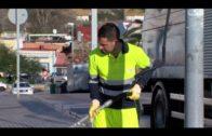 La Delegación de Limpieza continúa con la limpieza de acerado en Avenida Virgen de la Palma