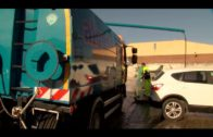 La Delegación de Limpieza continúa con la limpieza de acerado y carreteras en el Saladillo