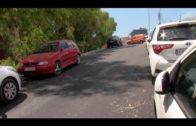 La delegación de limpieza lleva a cabo la retirada de escombros en la calle San Luis