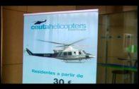 Más de 31.100 pasajeros se trasladaron en casi 3.000 vuelos en el Helipuerto de Algeciras en 2.018