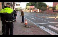 Modificado el tráfico en la plaza Joaquín Ibáñez a consecuencia de un accidente