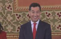Moreno jura el cargo como presidente de la Junta, arropado por Casado y Rajoy