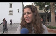 """Concentración de """"Victoria Kent"""" contra la violencia de género en Algeciras"""