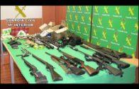 Detenidas 10 personas de una organización que suministraba armas de fuego a narcos de la comarca