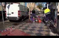 El Ayuntamiento sigue con la limpieza de choque en las calles Virgen de Europa y Juan XXIII