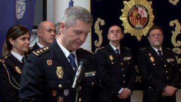 Francisco López toma posesión de su cargo como comisario jefe de la Policía Nacional en Algeciras