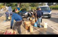 Intervención conjunta de la Policía Nacional, Guardia Civil y Vigilancia Aduanera