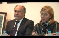 Landaluce y Pintor, Socios de Honor del Ateneo José Román en su 25º aniversario