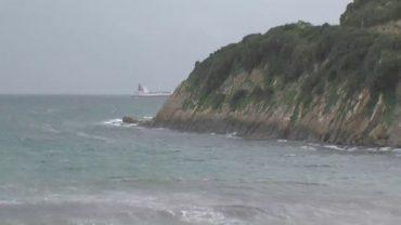 Previsto aviso amarillo este miércoles por oleaje en el Estrecho