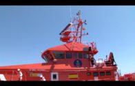 Rescatadas tres personas de una 'narcolancha' que volcó en la Bahía de Algeciras