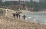 Adelante Algeciras pide que se mejoren las condiciones de los trabajadores de limpieza de playas