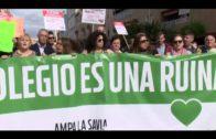 Adelante Andalucía invita al AMPA del virgen de la esperanza al pleno del parlamento