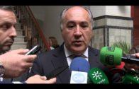 El Consejero de Hacienda, Juan Bravo, visita el Ayuntamiento de Algeciras