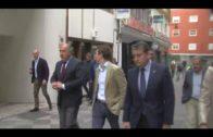 Pablo Casado mantiene un encuentro con militantes populares en Algeciras